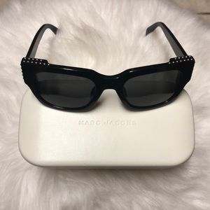 Marc Jacobs Accessories - AUTHENTIC Mark Jacobs black studded sunglasses